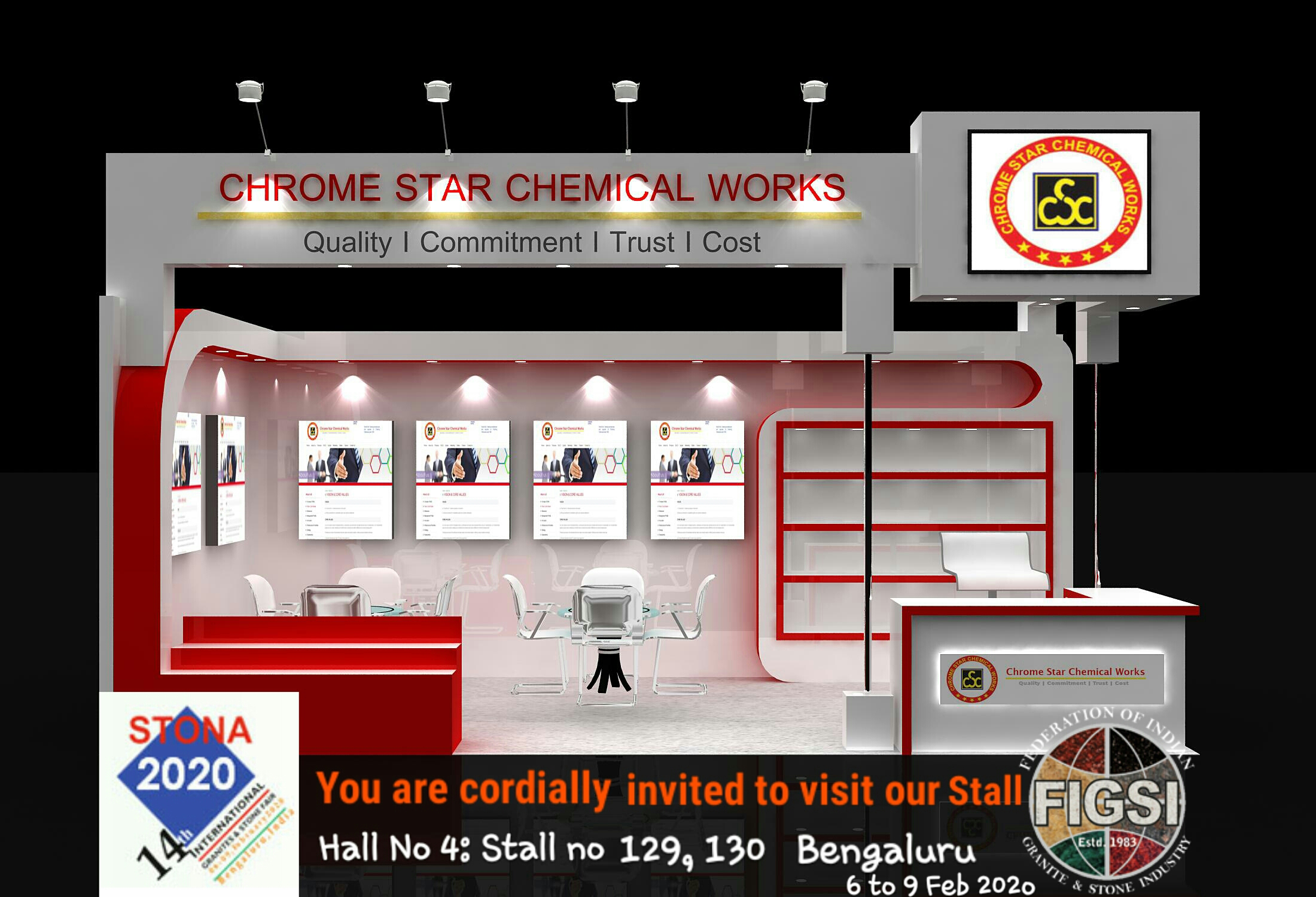 chrome Star chemical works stone mart
